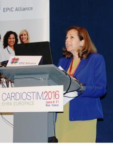 Cardiostim 2016 EPIC Symposium Dr. Andrea Russo ZS