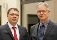 Dr. Harald Schönfeld und Jürgen Becker
