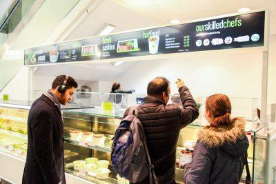 Digital-Signage-Netzwerk der Sushi-Kette Wasabi