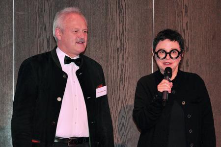 Prof. Dr. Reiner Biffar und Prof. Dr. Jocelyne Feine, Foto: 3M