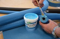 Insulating sustainably: solvent-free adhesives for installing elastomeric insulation materials made by Armacell