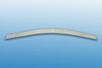 Thermoplastic leaf spring manufactured by T-RTM processing © Fraunhofer ICT
