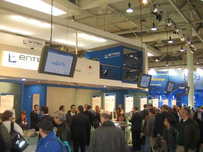 Teraport at enteo partner exhibition booth 1