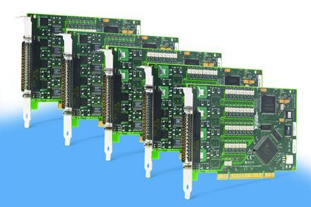 PCI-651x: fuenf neue, kostenguenstige Digital-I/O-Karten mit 37-Pin-D-Sub-Anschluss