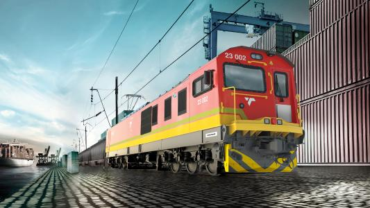 Knorr-Bremse and LB Foster are together equipping 240 TRAXX locomotives being built by Bombardier Transportation for South African railroad operator Transnet Rail Freight (TFR) with wheel flange lubrication systems and solid sticks / © Bombardier
