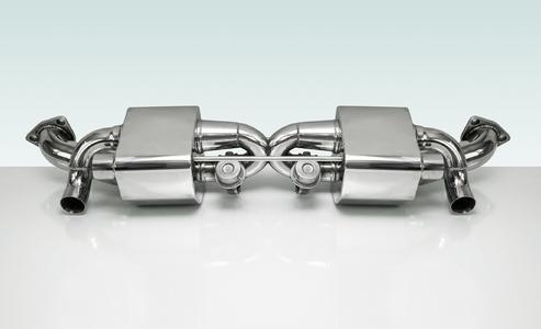 Sportabgasanlagen für den Porsche 911
