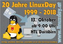 20 Jahre LinuxDay in Dornbirn und TUXEDO Computers ist dabei