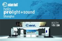 Adam Hall Asia - Next Stop at Prolight + Sound 2015 in Shanghai