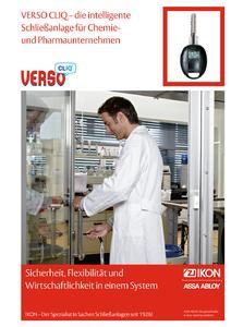 Die neue Sicherheitsbroschüre von ASSA ABLOY Sicherheitstechnik GmbH für die chemische und pharmazeutische Industrie.
