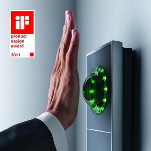 iF product design award 2011 für INTUS 1600PS Handvenen-Zutrittsleser