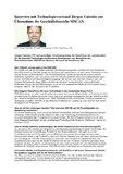 [PDF] Interview mit Technologievorstand Jürgen Valentin zur Übernahme des Geschäftsbereichs SISCAN