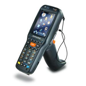 1D- und 2D-Codes ohne Handumdrehen: Der Skorpio X3 bringt neben dem 3,2 Zoll Touchscreen auch eine geneigte Scanengine für maximale Benutzerfreundlichkeit mit.
