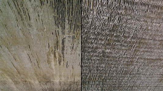 Picture 2: Cleaning heat exchangers with the JetMaster process – left before, right after cleaning