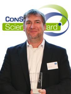 Wolfgang Grasl gewinnt den ConSense ScientificAward 2017 für seine Master Thesis zum Thema Lean-Leadership in der Produktion