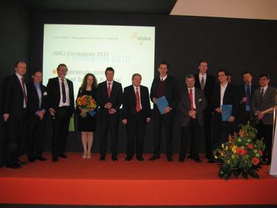 VDMA: Gebäudeautomationsbranche verleiht AMG-Förderpreis 2010