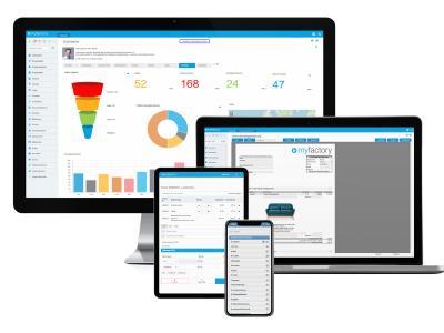Ob am Arbeitsplatz oder für das Business-to-go: Myfactory bietet mit seinen Cloud-Lösungen die ideale Lösung / Quelle: Myfactory
