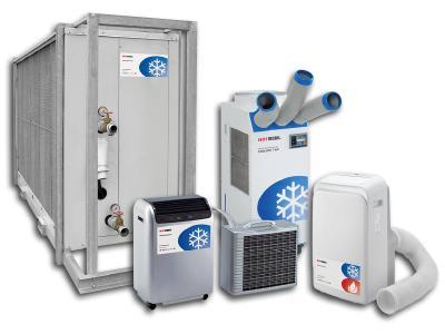 Zum Start in die Heizsaison stehen bei Hotmobil weitere 170 mobile Klimageräte und Kaltwassersätze im Mietpark zur Verfügung, Bildquelle: Hotmobil Deutschland GmbH