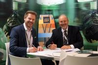 Thorsten Groene (Cevotec) and John Melilli (Composite Automation)
