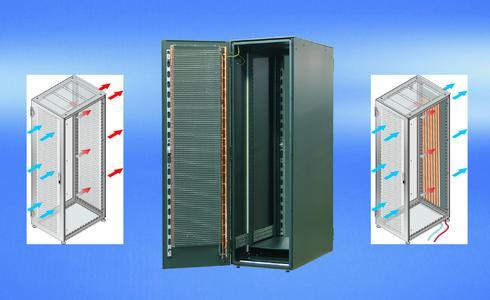 Schroff Serverschränke effizient und geräuscharm kühlen