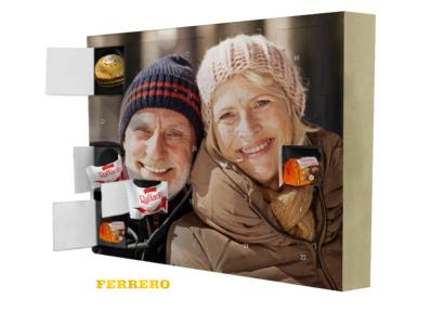New photo Advent calendar with Ferrero chocolates