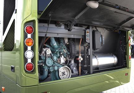 Volvo 7700 Hybrid 2008 engine