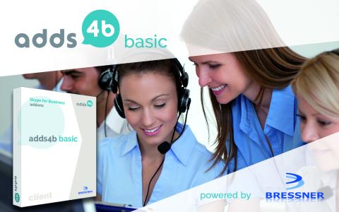 BRESSNERS adds4b™ - basic brings many everyday extras for desktop telephony into the company
