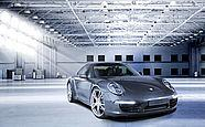The new Porsche 911 with TECHART Formula III forged light alloy wheels