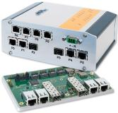 MAXBES 8-port switch with 2x 10Gbit ports