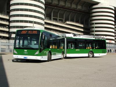 Besseres Klima durch Zero-Emission: 15 weitere umweltfreundliche Hybrid-Trolleybusse für Mailand
