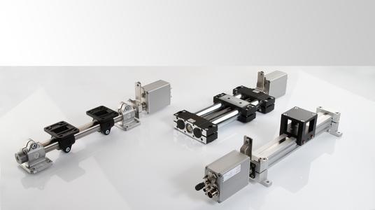 Die aufeinander abgestimmte Kombination aus Lineareinheit und Stellantrieb bietet eine einfache und patente Lösung für die Endanwender
