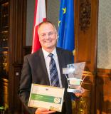 eChiller mit Wasser als Kältemittel gewinnt den European Business Award for the Environment