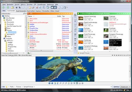 Directory Opus 9 unter Microsoft Vista