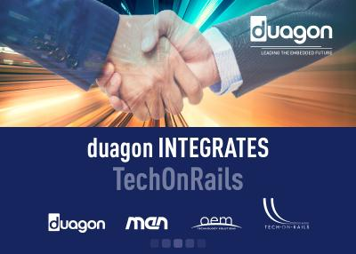 duagon acquires TechOnRails