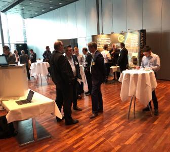 Diskussionen und Networking gab es nicht nur in den Vortragsveranstaltungenm, sondern auch während der Tabletop-Ausstellung / Bild: DVS