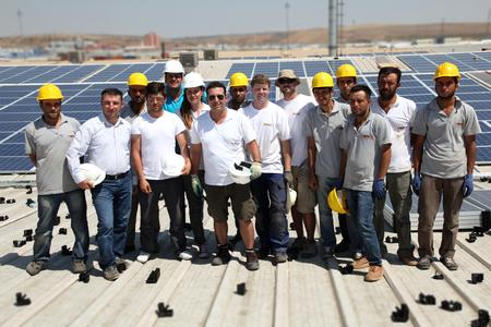 TRITEC realizes first PV systems in Turkey