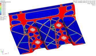 Designing of the RTM and compression molded demonstrators based on defined load cases. Photo: Fraunhofer ICT