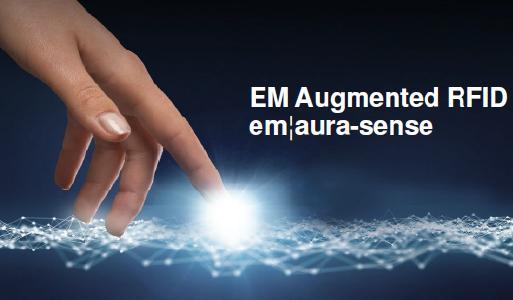 RFID IC aura-sense für nachhaltige Wireless-Sensorik