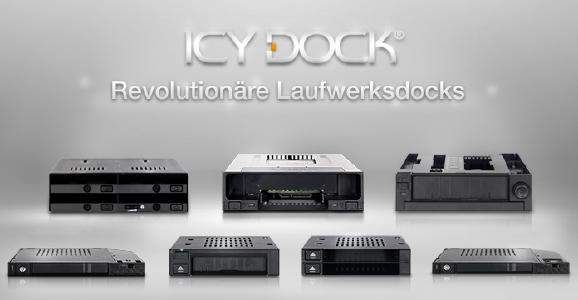 ICY DOCK Guide: Revolutionäre interne Laufwerks-Docks