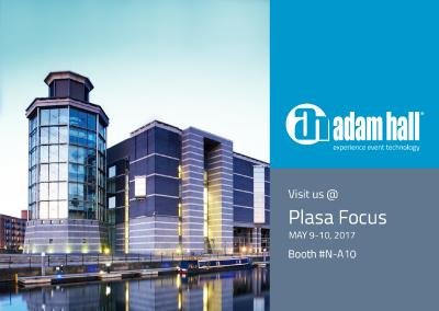 The Adam Hall Group Presents Event Technology Solutions at Plasa Focus Leeds
