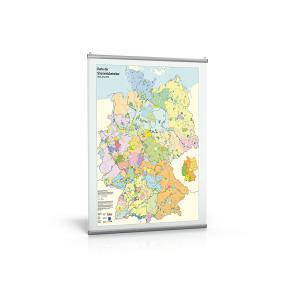 Karte der Stromnetzbetreiber