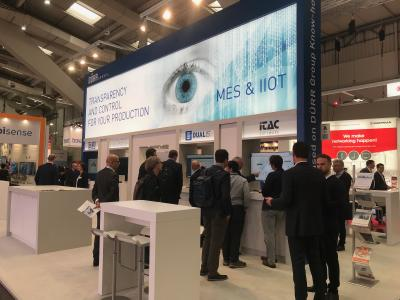iTAC Software AG at HANNOVER MESSE: Industrial Transformation with MES and IIoT