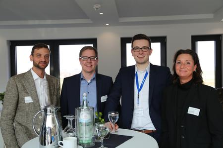 Luca Colicino (xRM1), Christoph Isenburg (Microsoft), Dennis Schulte (Mattern Consult), Janine Richter (Microsoft)