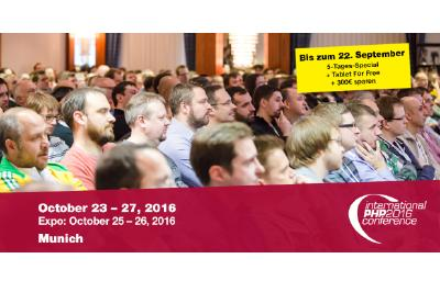 Learn how to build your own API-based business at the API Day during the International PHP Conference in Munich!