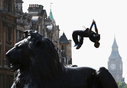 Barclaycard World Freerun Championships findet am Trafalgar Square statt