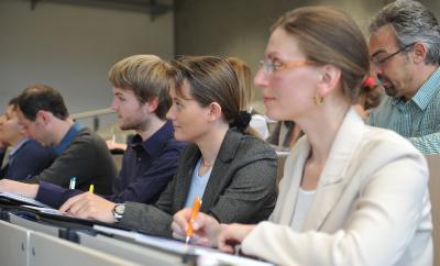 Studierende am RheinahrCampus, Remagen