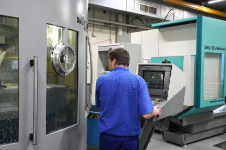 As it does for milling, the Spanish tool and mold manufacturer BJB Procesa places its trust in ... (image: REGO-FIX)
