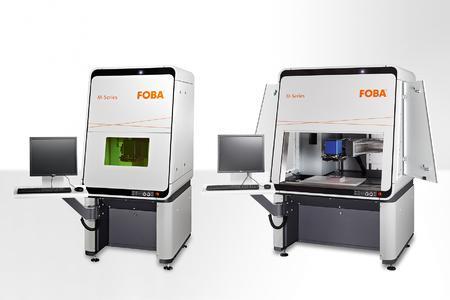 Laser marking workstations FOBA M2000-/M3000-B/P for efficient las...