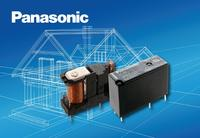Panasonic ALDP slim power relay for switching loads up to 277VAC/5A saves energy - now available from TTI Inc