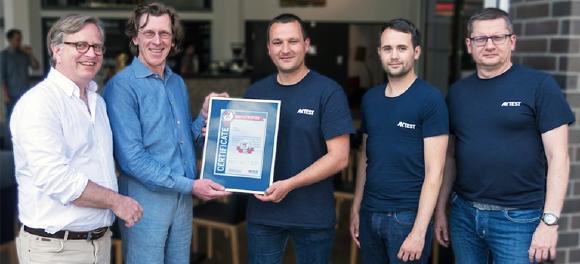 AV-TEST zeichnet G DATA mit 100. Test-Zertifikat für Sicherheitssoftware aus (Foto: G DATA)