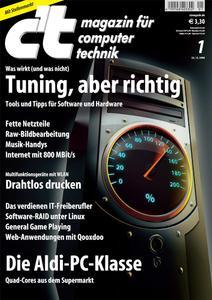 Das Titelbild der aktuellen c't-Ausgabe 1/2009